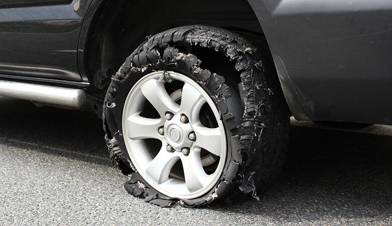 Damage Casing Tyre