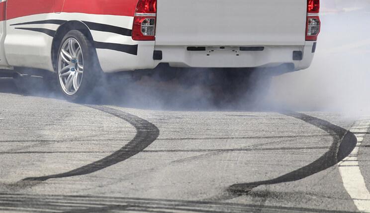 Sharp Braking Tyre